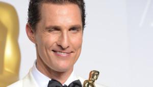 Matthew McConaughey, Oscar 2014 du meilleur acteur pour Dallas Buyers Club
