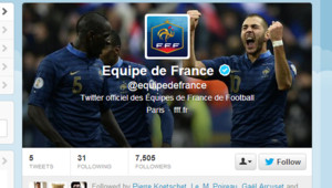 twitter équipe de France