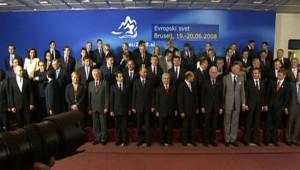 27 dirigeants UE Traité Sommet Bruxelles