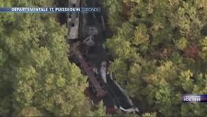 Collision mortelle en Gironde : les images de l'accident