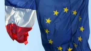 Drapeau Europe et France