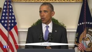 """Nucléaire iranien : """"C'est une belle journée"""" pour Obama"""