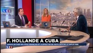 Pourquoi Hollande ne parlera pas des droits de l'homme à Cuba
