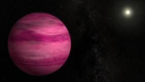 Une exo-planète rose nommée GJ 504 b et découverte par la Nasa