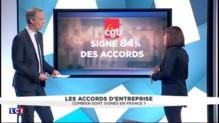 Combien d'accords d'entreprise sont-ils signés en France ?