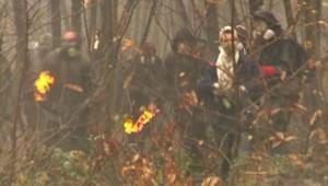 L'évacuation à Notre-Dame-des-Landes, le 23 novembre 2012