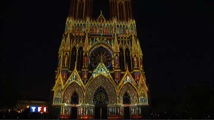 Reims Cathedrale Lumiere la Cathédrale de Reims Fête