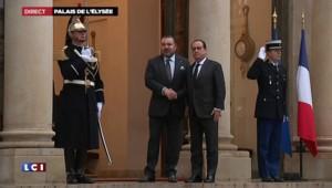 Le roi du Maroc accueilli à l'Élysée