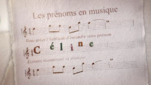 Les prnoms en musique - Cline