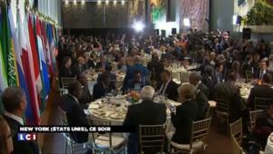 ONU : Obama et Poutine réunis à table pour prendre un cocktail