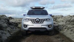 pick-up Renault voiture automobile alaskan concept