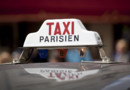 Taxis parisien voiture chauffeurs