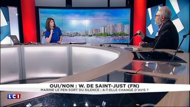"""Wallerand de Saint-Just (FN) : """"Marine Le Pen s'achemine avec beaucoup de sérénité vers la présidentielle"""""""