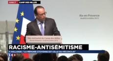 """François Hollande : """"La République ne connaît pas de races"""""""