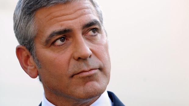 George Clooney, en octobre 2010