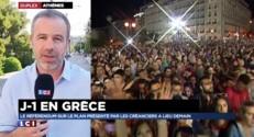Grèce : J-1 avant le référendum, flou total et fort pourcentage d'indécis