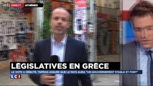Législatives en Grèce : les bureaux de vote ont ouvert