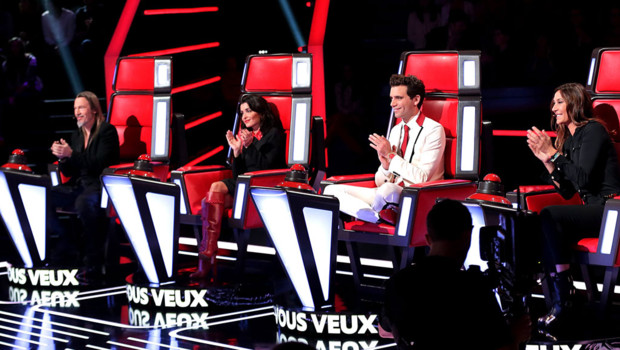 Les coachs de The Voice Florent Pagny, Jenifer Mika et Zazie