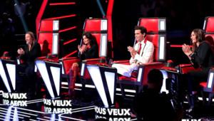 Les coachs de The Voice Florent Pagny, Jenifer Mika et Zazie