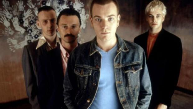 Les quatre héros de Trainspotting réalisé par Danny Boyle