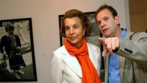 Liliane Bettencourt et François Marie-Banier