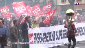 Loi travail : forte mobilisation dans les grandes villes de province