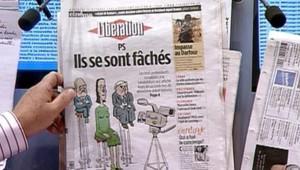 """TF1/LCI : La Une de """"Libération"""" après le deuxième débat télévisé des candidats à l'investiture PS : """"Ils se sont fâchés"""""""