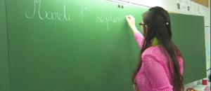 Le 13 heures du 1 septembre 2015 : Premier jour de classe pour Fanny, jeune institutrice de 21 ans - 722