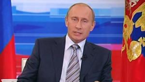 Le président russe Poutine le 18 octobre 2007/TF1