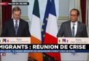"""François Hollande sur les migrants : """"Nous avons proposé avec Angela Merkel un mécanisme permanent et obligatoire"""" d'accueil"""