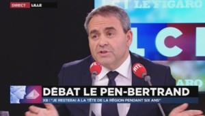 Xavier Bertrand, la tête de liste Les Républicains en Nord-Pas-de-Calais-Picardie.