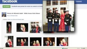 Capture de la page Facebook où Tareq et Michaele Salahi racontent leur visite à la Maison Blanche