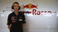 Danii Kvyat Essais Silverstone F1 Toro Rosso 2013