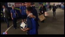 Euro 2016 : Griezmann offre le ballon de France-Irlande au fils du policier tué à Magnanville
