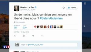 La classe politique française salue l'arrestation de Salah Abdeslam