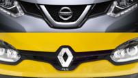 Logos Renault Nissan 2014