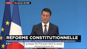 """Manuel Valls : """"C'est avec la force du droit que se battent les démocraties"""""""