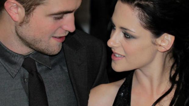 Robert Pattinson et Kristen Stewart le 16 octobre à Londres
