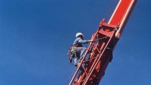 industrie grue ouvrier chantier