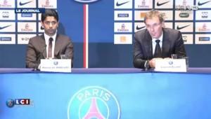 """Laurent Blanc, """"très fier"""" d'arriver au PSG"""
