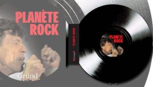 Le livre Planète Rock chez Gründ