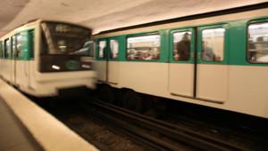 métro ratp transport rame quai