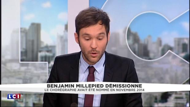 Opéra de Paris : Benjamin Millepied officialise sa démission