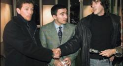 Pascal Olmeta et Jean-Luc Sassus à l'heure de la réconcialiation, le 16 janvier 1997.