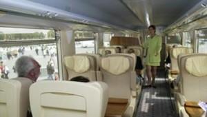 train SNCF corail téoz première classe