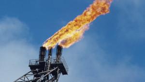 Une platforme pétrolière