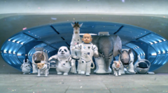 Kia Sorento Pub Superbowl 2013 Space Babies