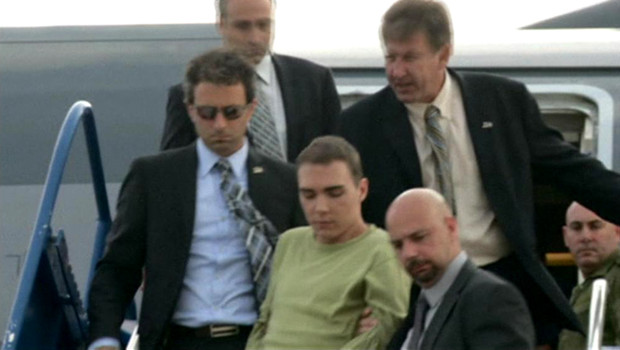 Rocco Luka Magnotta à l'aéport de Montréal.