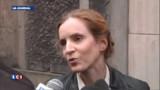 NKM émue à l'annonce de sa victoire dans l'Essonne