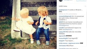 Elodie Gossuin partage une photo de ses enfants sur Instagram